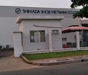 Vệ sinh kho Shimada Shoji