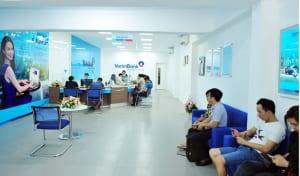 Vệ sinh phòng giao dịch ngân hàng Vietin